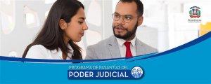 Poder Judicial dominicano reactiva su programa de pasantías para estudiantes de la UASD