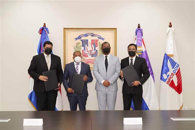 Consejo del Poder Judicial y Registro Inmobiliario firman convenio con el Inposdom