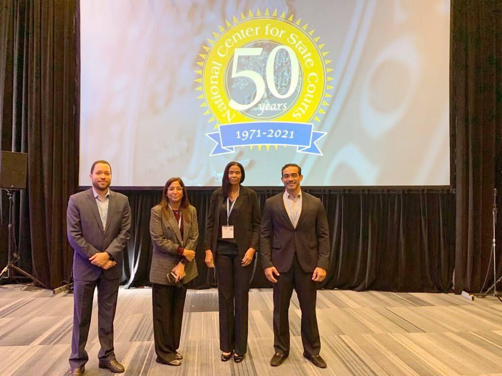 Poder Judicial dominicano participó en Conferencia de Tecnología de la Corte 2021